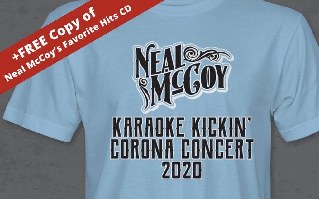 Karaoke Kickin Corona Concert 2020 T Shirt